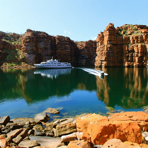 Kimberley luxury cruises True North