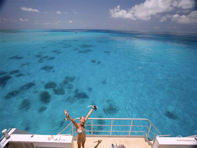 ROWLEY SHOALS lagoon fishing