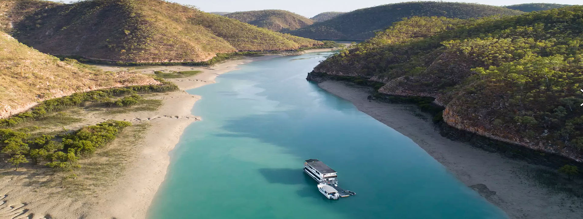 4 NIGHT GETAWAY CRUISE aerial boat house river