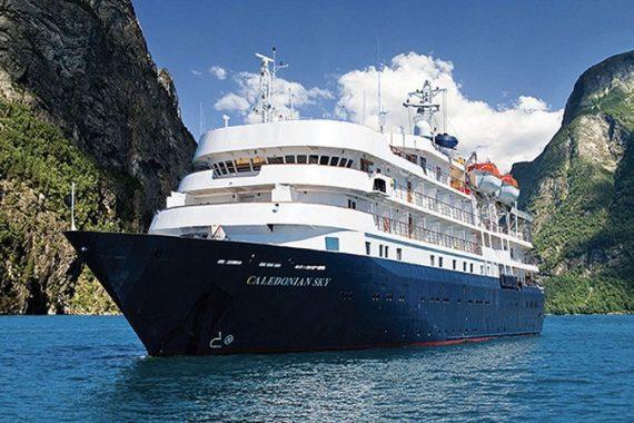 CALEDONIAN-SKY- Kimberley cruise ship
