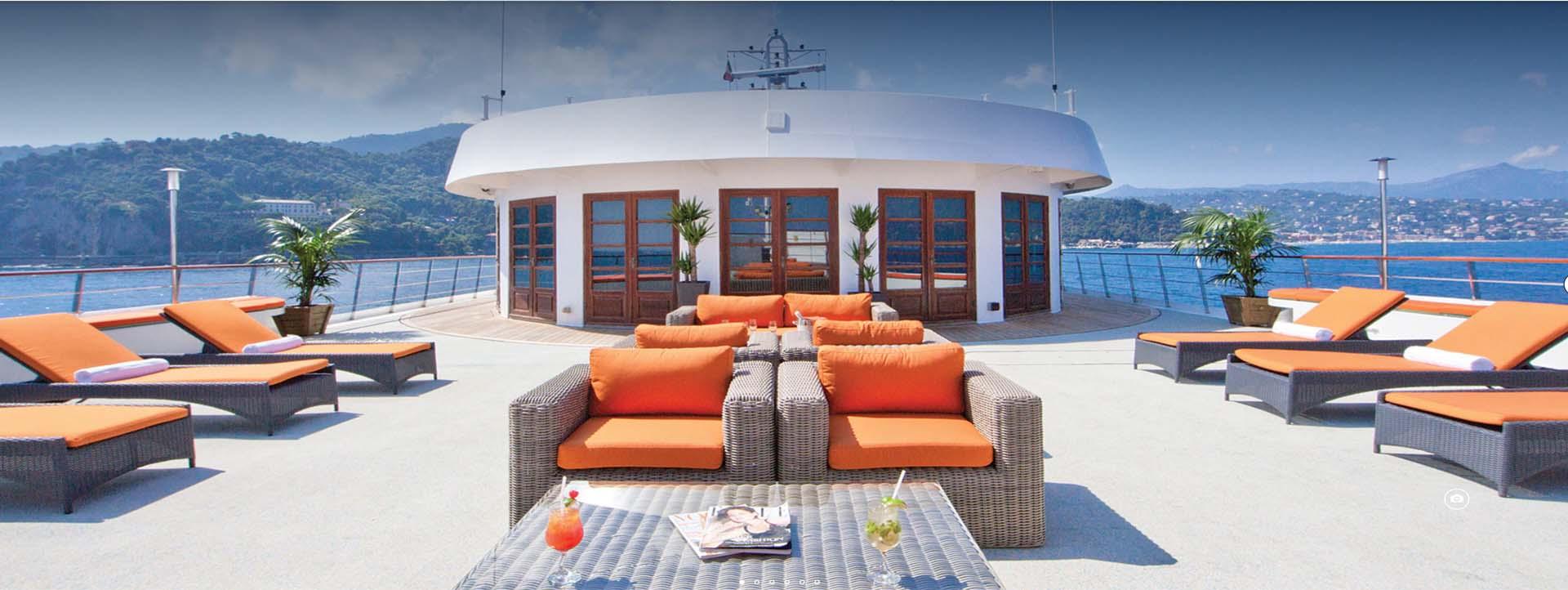 CALEDONIAN SKY top deck cabins slider