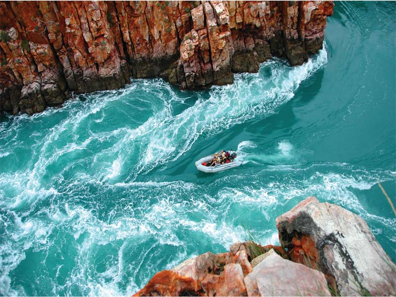 CORAL ADVENTURER Kimberley cruises Horizontal Falls tour