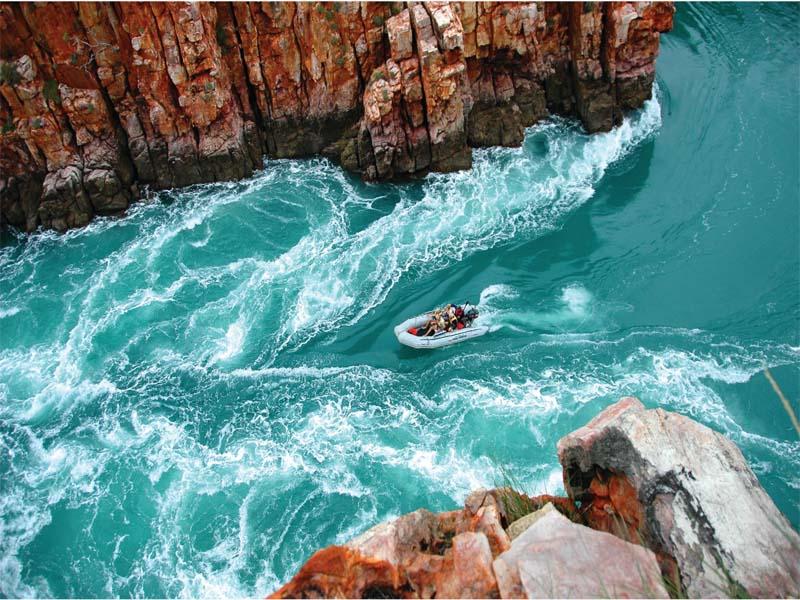 CORAL ADVENTURER Kimberley cruises Horizontal Falls tour
