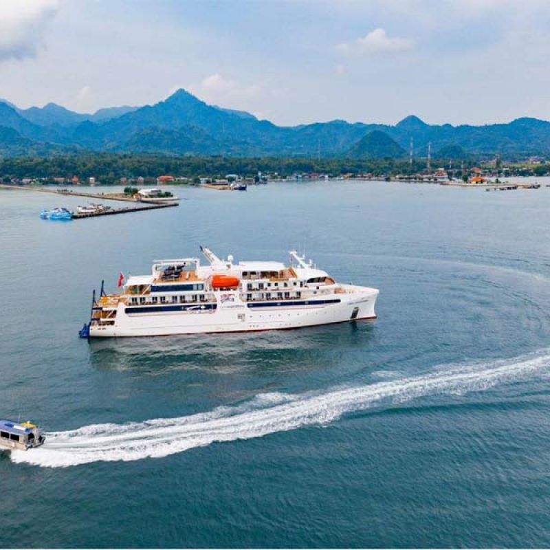 CORAL ADVENTURER cruise itineraries box