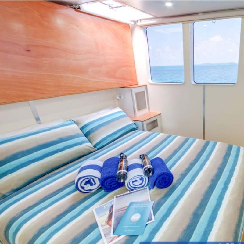 DELUXE CABIN Bridge Deck