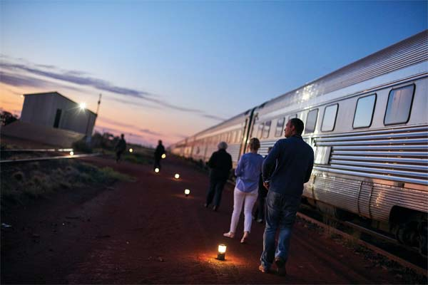 GHAN-DATES ADELAIDE to DARWIN