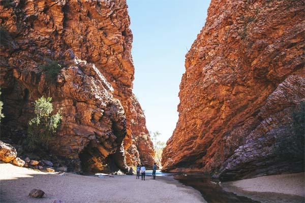 GHAN Darwin Alice Springs gorge Day 2