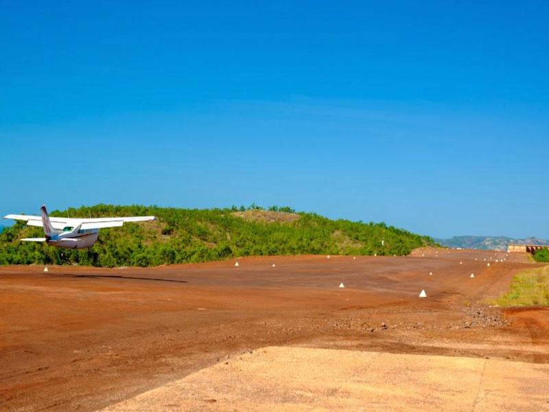 GO HORIZONTAL Cockatoo island airfield