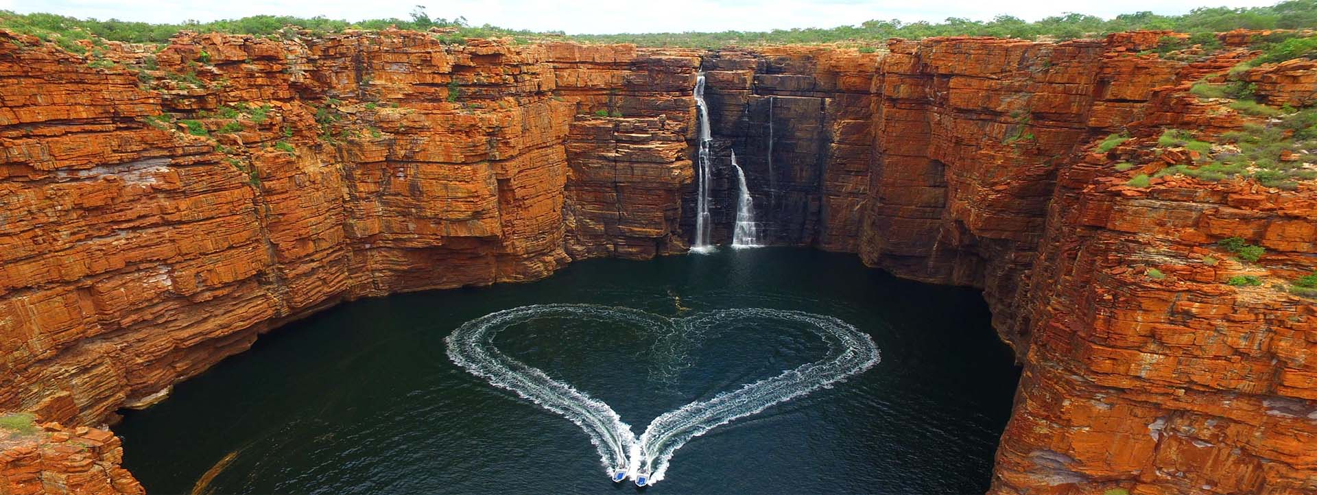 GREAT ESCAPE Cabin slider King George Falls heart