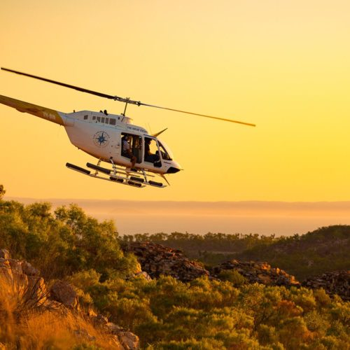 GREAT ESCAPE Experience-Helicopter- Kimberley cruises