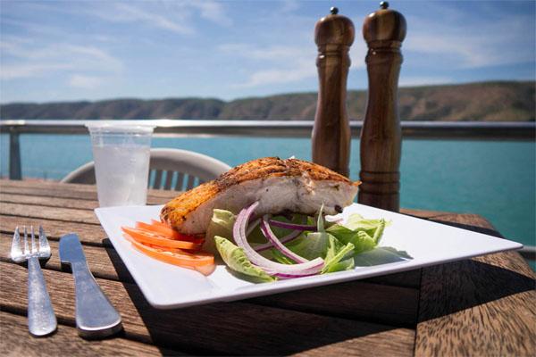 HORIZONTAL FALLS barramundi seafood meal