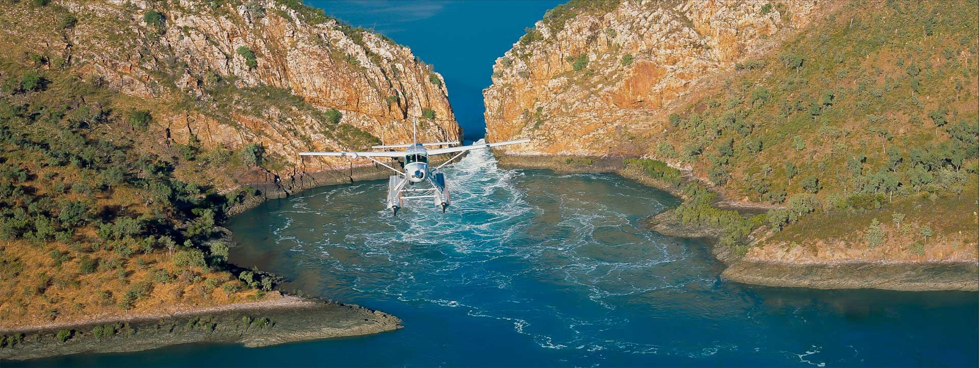 HORIZONTAL-FALLS-plane-flight-view-of-aircraft