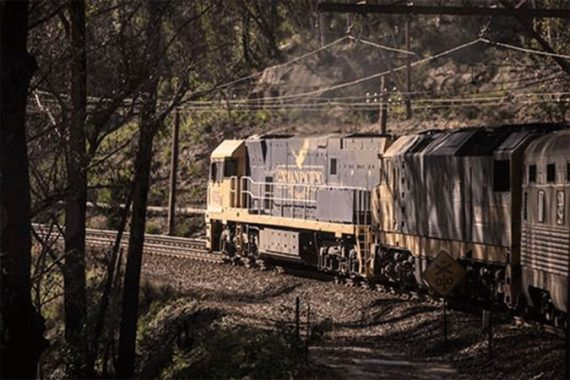 INDIAN-PACIFIC train