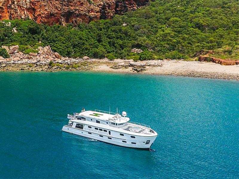 KIMBERLEY COAST aerial photo Kimberley cruise