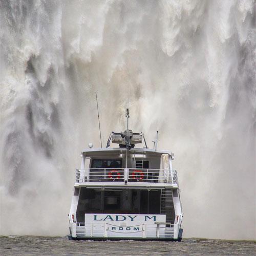 LADY M King George Falls Kimberley cruise
