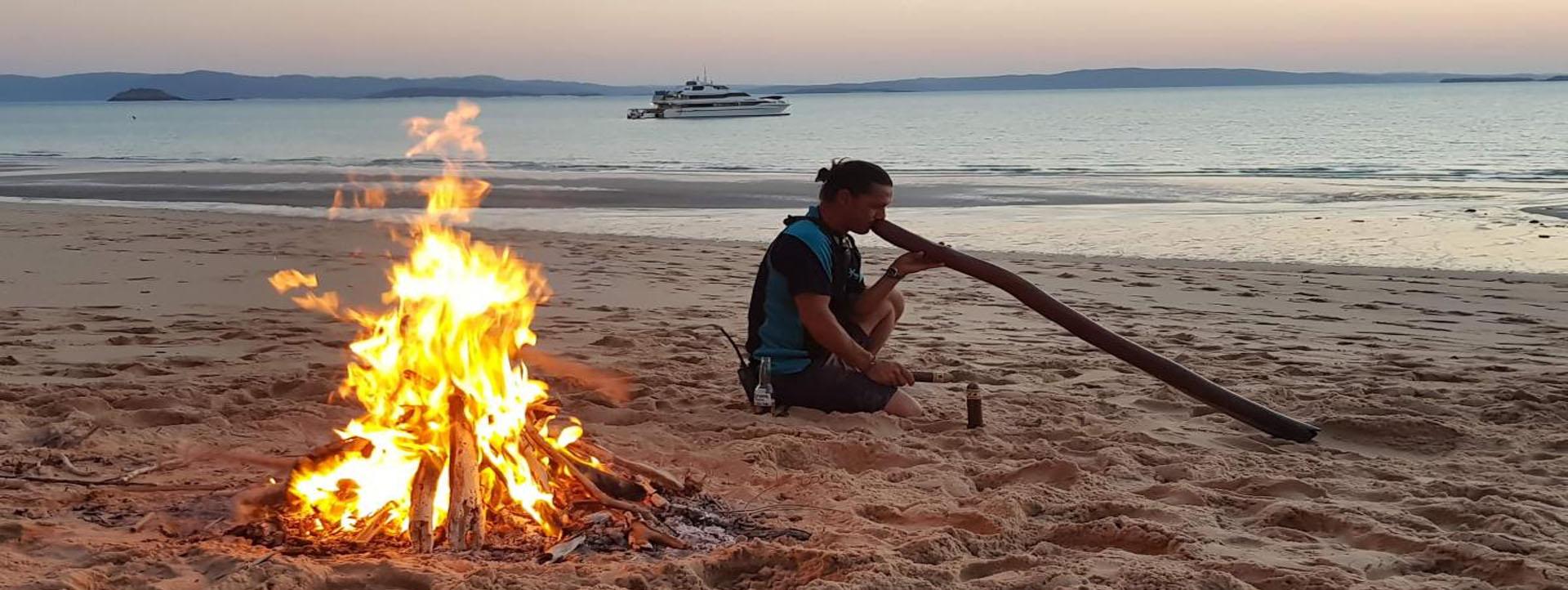 REEF PRINCE Kimberley beach bonfire