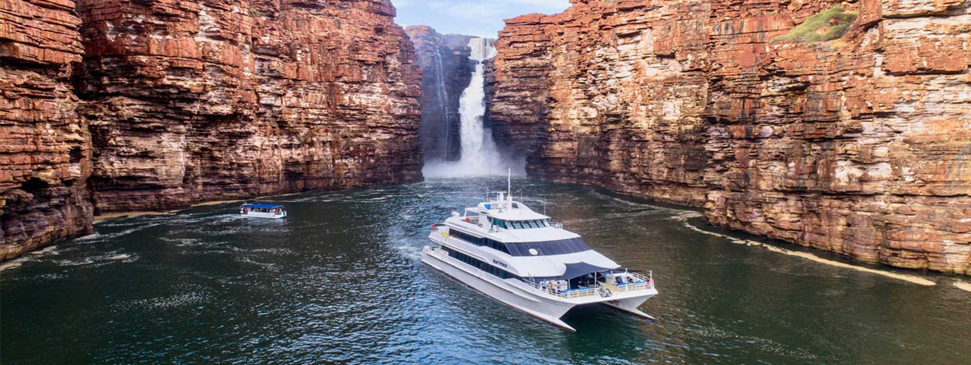 REEF-PRINCE-Kimberley-cruises-King-George-Falls