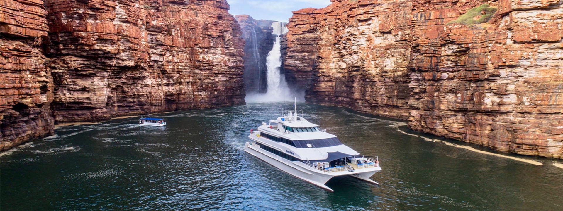 REEF PRINCE Kimberley cruises King George Falls