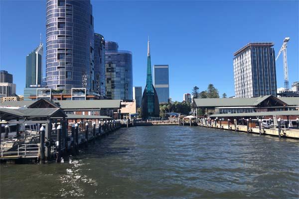 THE GHAN Perth Elizabeth Quay