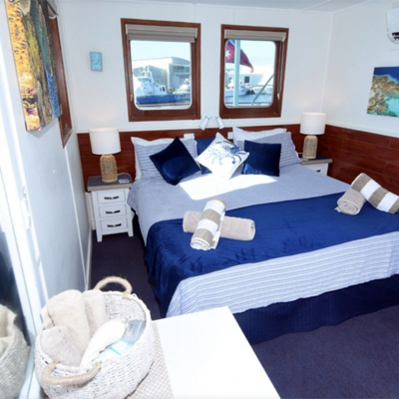 TOP DECK KING BED DELUXE Eco Abrolhos