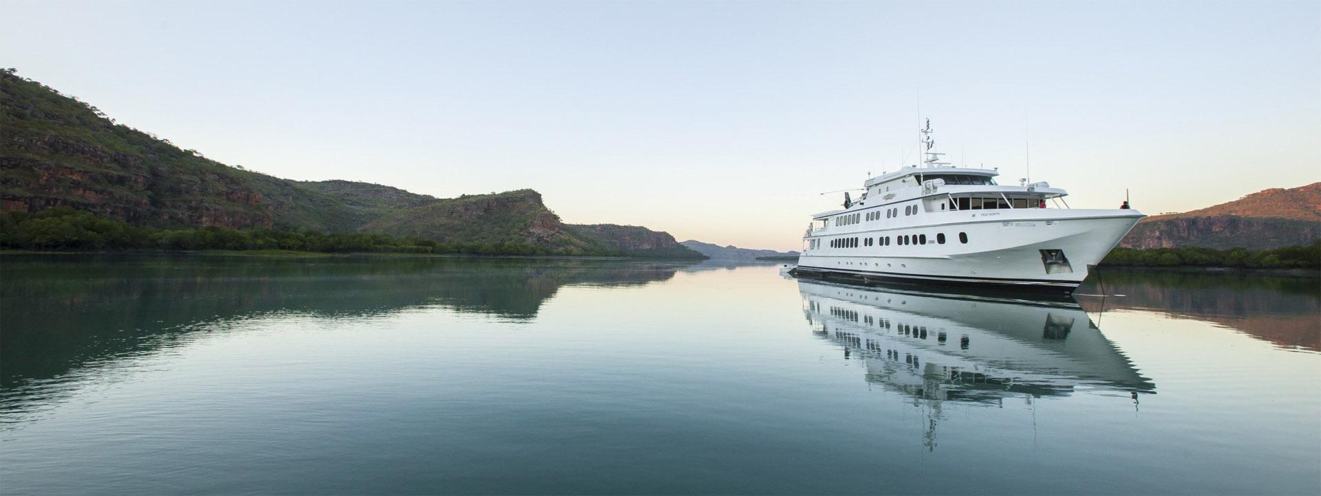 TRUE NORTH Kimberley cruise still waters