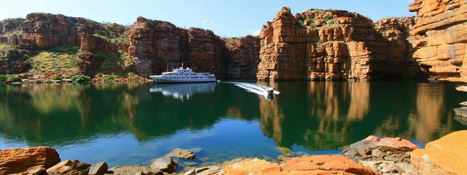 TRUE NORTH Kimberley cruises King George Falls