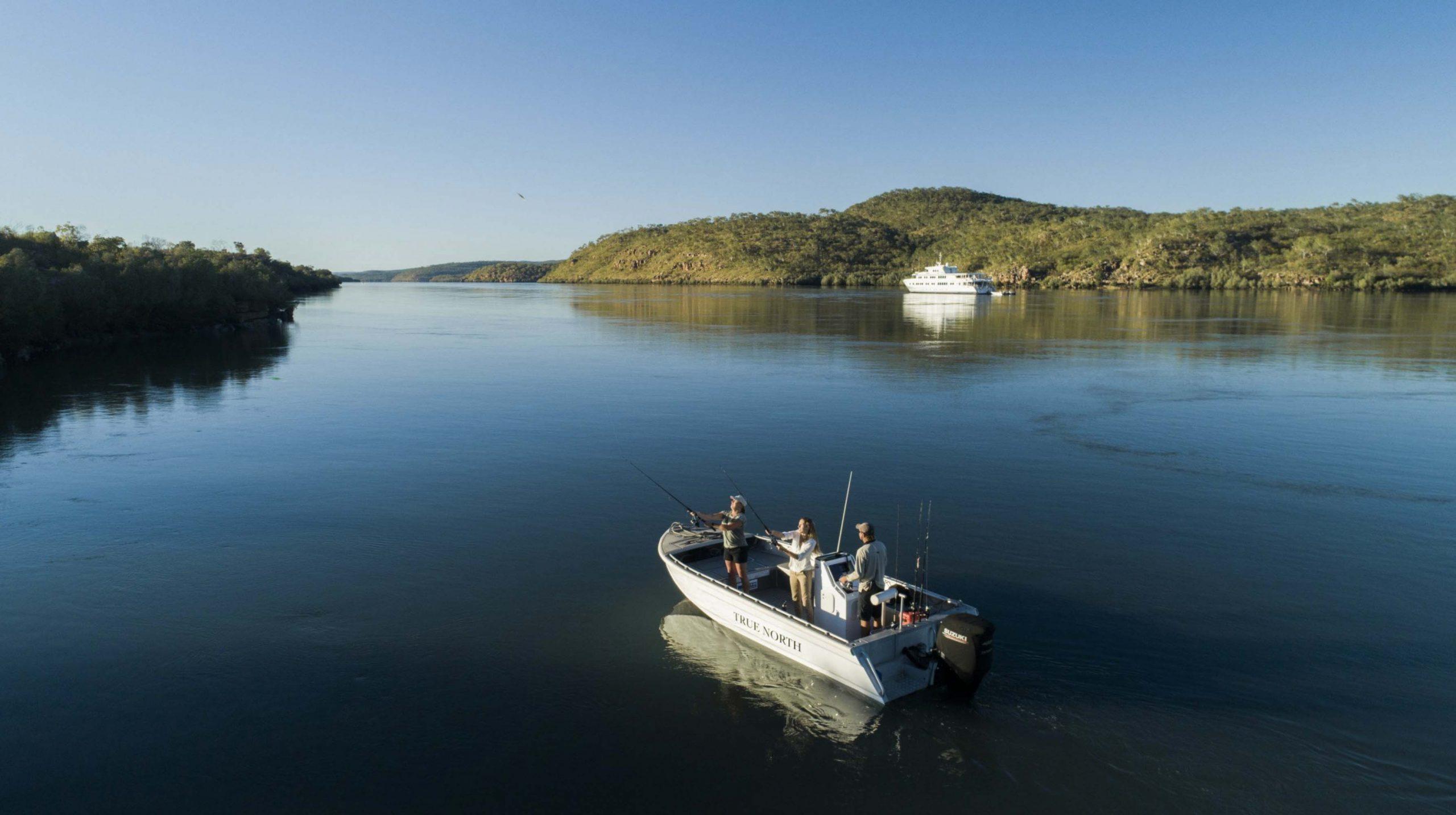 TRUE NORTH Kimberley fishing barramundi