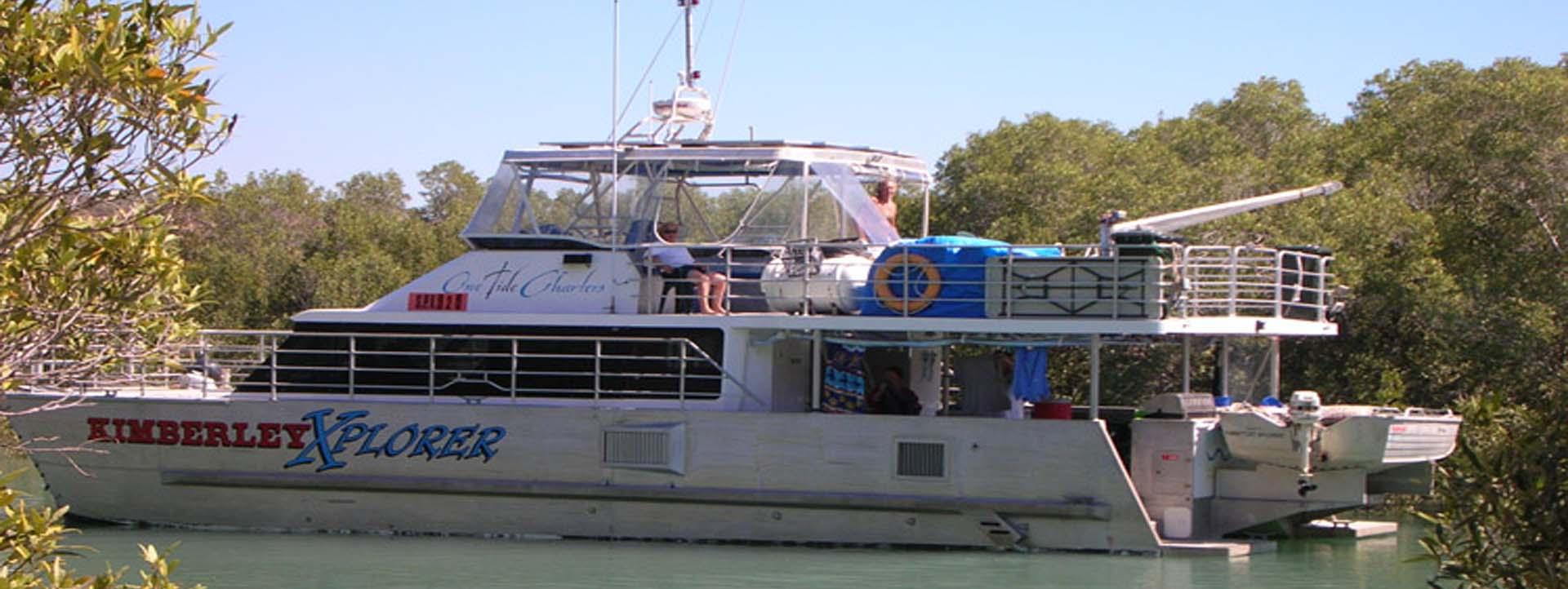 KIMBERLEY XPLORER boat side profile slider