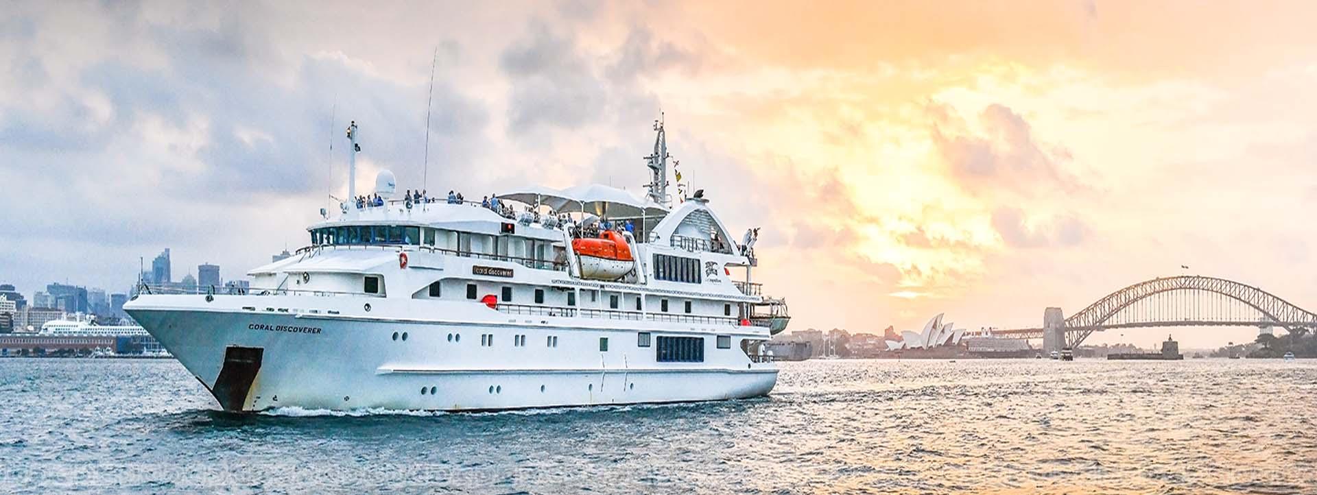 CORAL DISCOVERER sydney rocks cruise