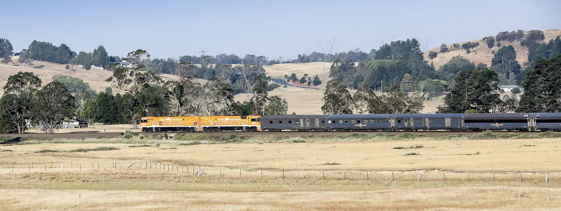 GREAT SOUTHERN RAIL JOURNEY Dates Brisbane Adelaide