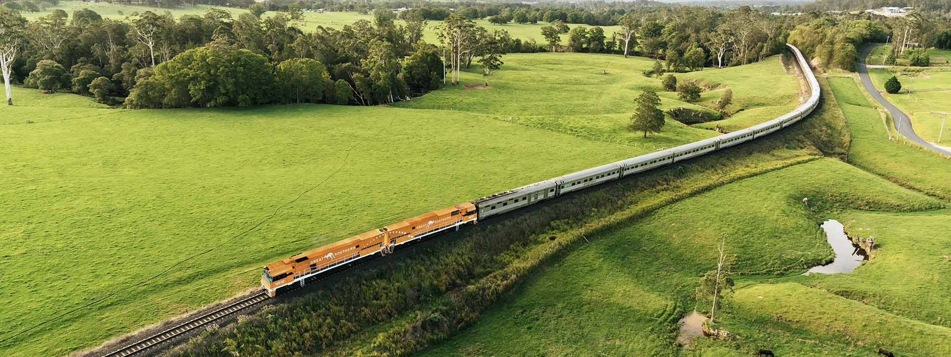 GREAT SOUTHERN RAIL JOURNEYS slider countryside