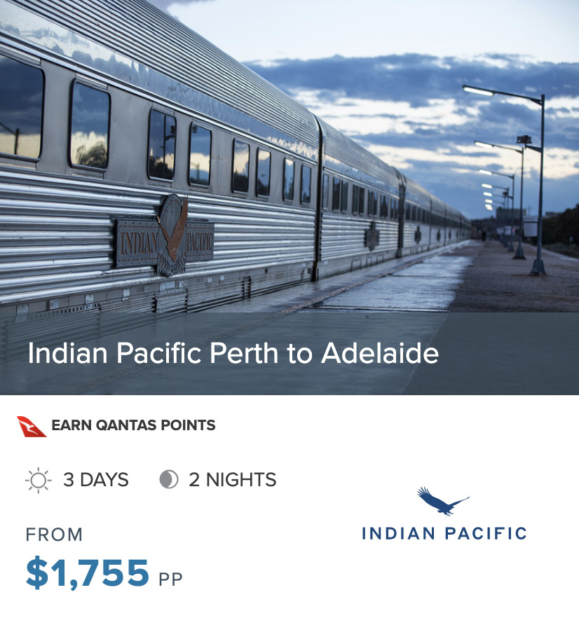 INDIAN PACIFIC PER to ADL prices 2022 box