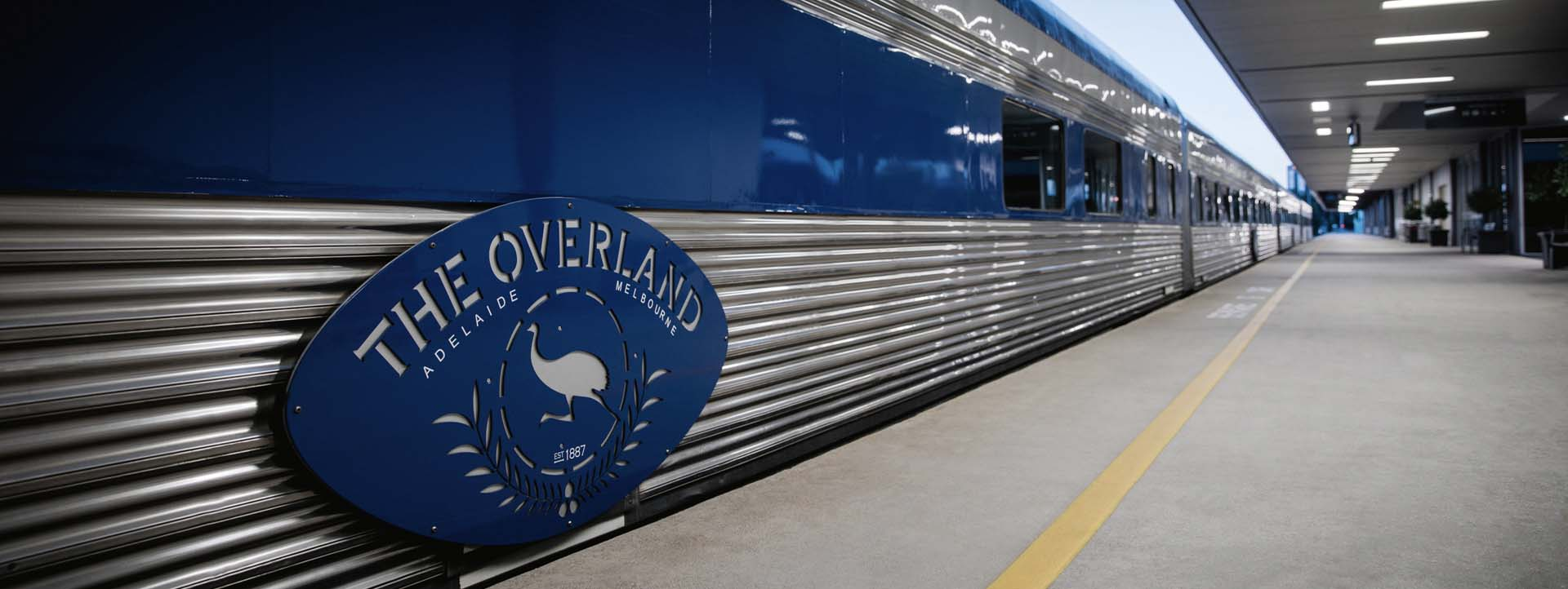OVERLAND rail journeys Melbourne to Adelaide