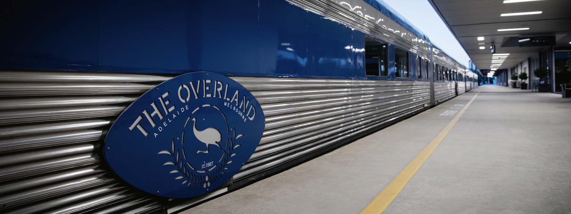 OVERLAND rail journeys Melbourne to Adelaide