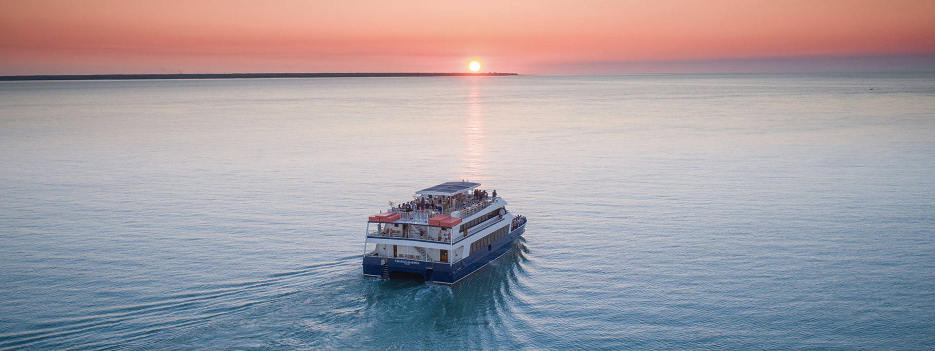 CHARLES DARWIN boat Darwin sunset cruises